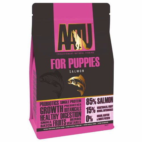 AATU Dog 85/15 Puppy Salmon 5kg
