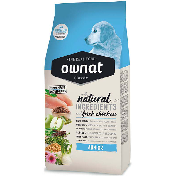 OWNAT Dog Classic Junior 15kg