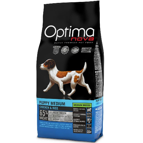 OPTIMAnova Dog PUPPY MEDIUM 2kg