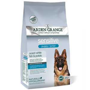 Arden Grange Puppy/Junior Sensitive Ocean Fish 12 kg
