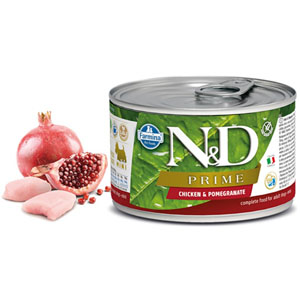 N&D DOG PRIME Adult Chicken & Pomegranate Mini 140g - 2ks