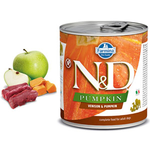 N&D DOG PUMPKIN Adult Venison & Pumpkin 285g - 2ks