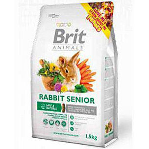 Brit Animals Rabbit Senior Complete 1,5kg