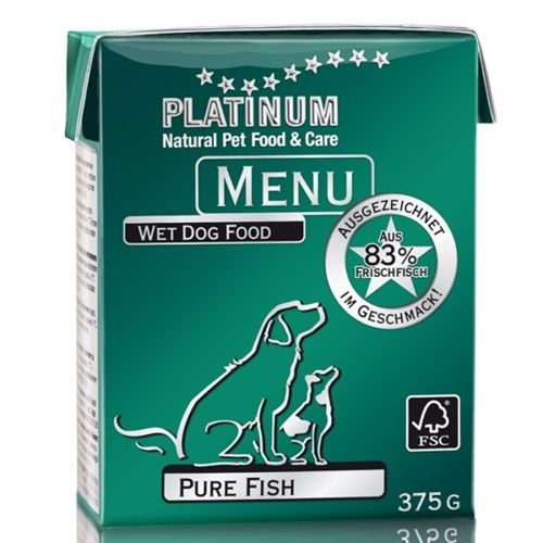 Platinum Natural Menu - ryby 375g