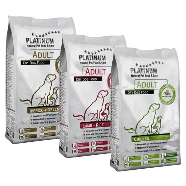PLATINUM Natural ADULT Mix 4,5 kg