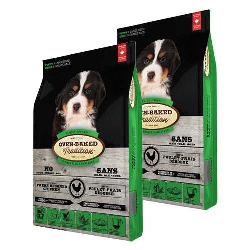 Oven-Baked Tradition Puppy Large Breed 2 x 11,34kg