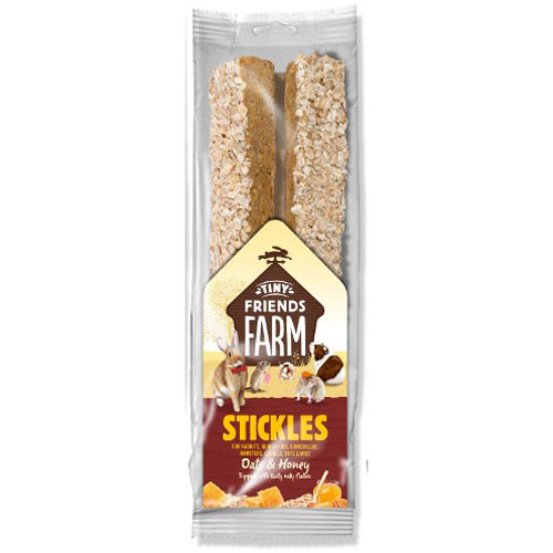 Supreme Stick Oats, Honey - tyč všežravec 2 ks, 100 g