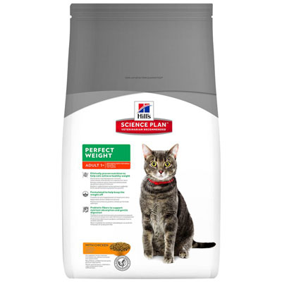 Hill's Feline Dry Adult Perfect Weight 3kg