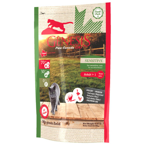 Genesis Pure Canada My Green Field Adult Sensitive CaT2,26kg