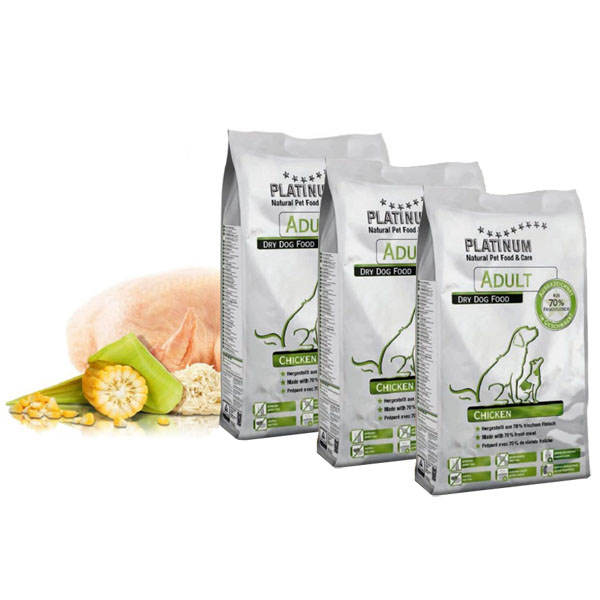 PLATINUM Natural ADULT Chicken 15 kg