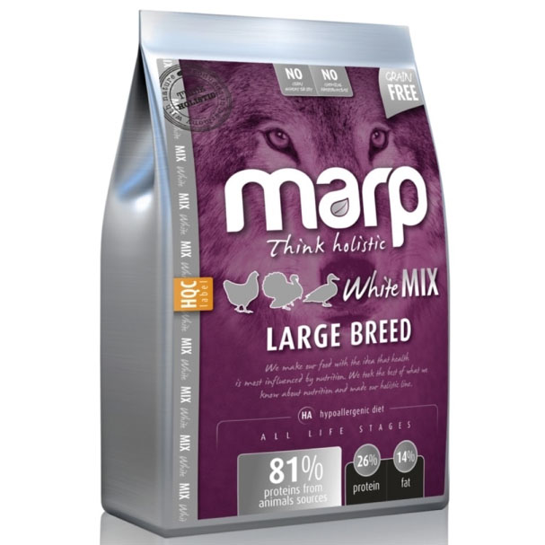 Marp Holistic - White Mix Large Breed 50g - VZOREK