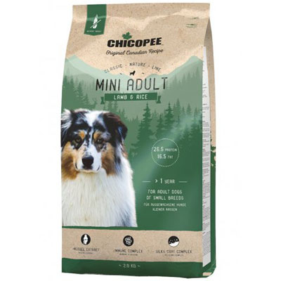 CHICOPEE Classic Nature MINI Adult Lamb&Rice 2kg