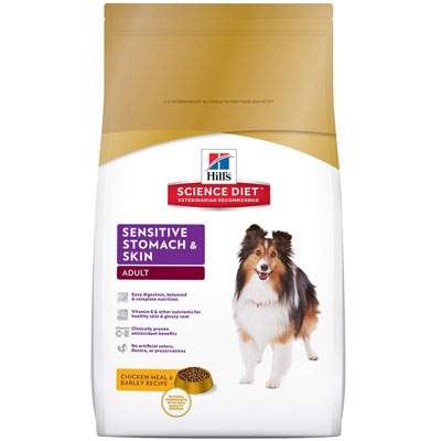Hill's Canine Dry Sensitive Stomach & Skin Chicken 12kg