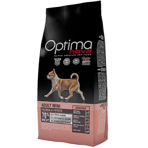 OPTIMAnova Dog ADULT MINI SENSITIVE GF Salmon 8kg