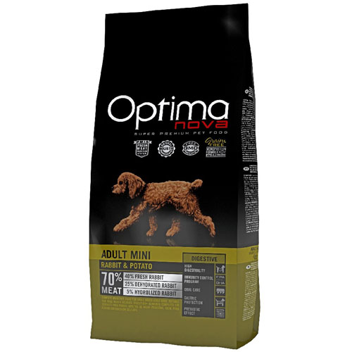 OPTIMAnova Dog ADULT MINI DIGESTIVE GF Rabbit 8kg