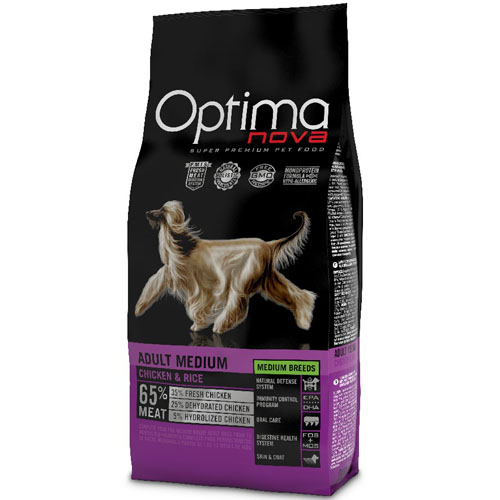 OPTIMAnova Dog ADULT MEDIUM 12kg