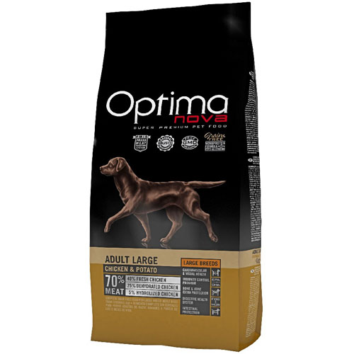 OPTIMAnova Dog ADULT LARGE GF Chicken 12kg