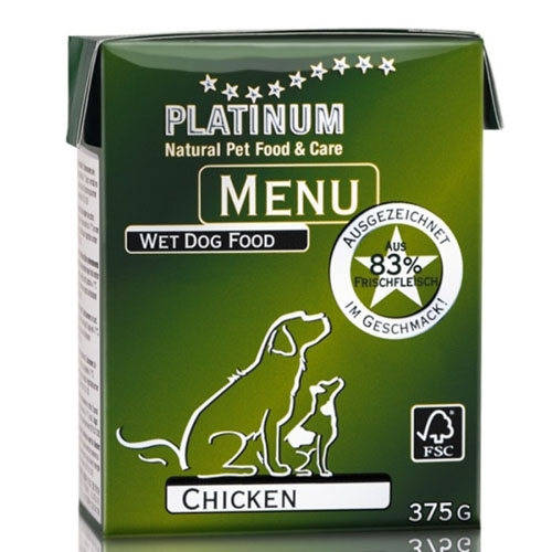 Platinum Natural Menu - kuře 375g