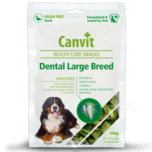 Canvit Snacks Dental Large Breed 250g