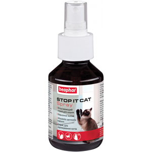 Beaphar odpuzovač Stop It Cat interiér spray 100 ml