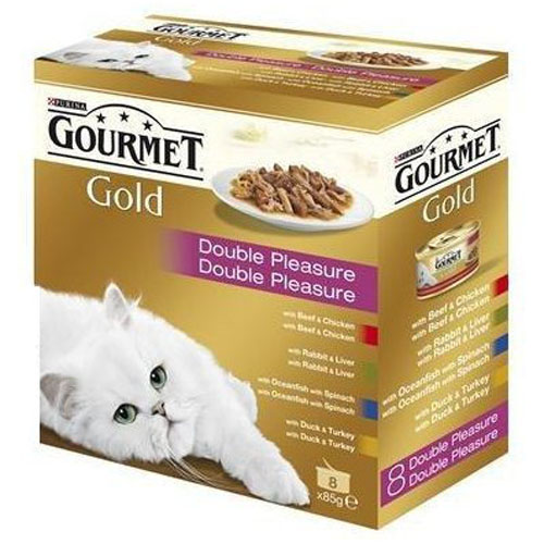 Gourmet Gold Cat Multi Gril Mix 8 x 85 g