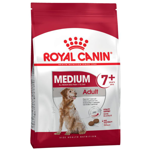 Royal Canin MEDIUM Adult 7+ 4 kg