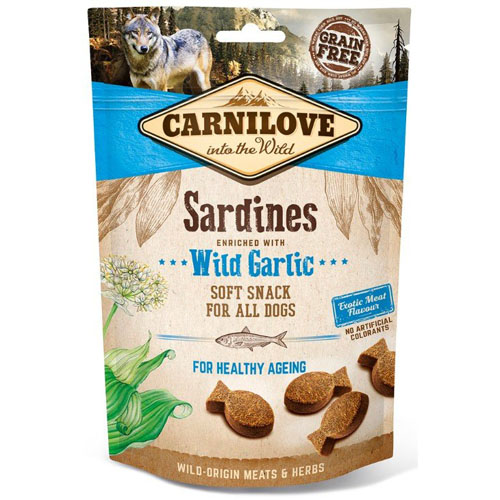 Carnilove Dog Semi Moist Sardines & Wild Garlic 200g