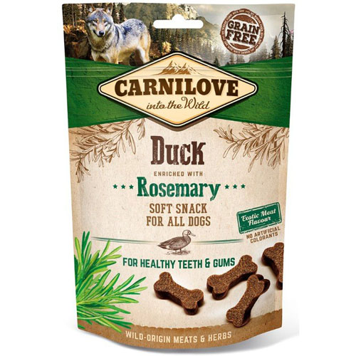 Carnilove Dog Semi Moist Snack Duck & Rosemary 200g