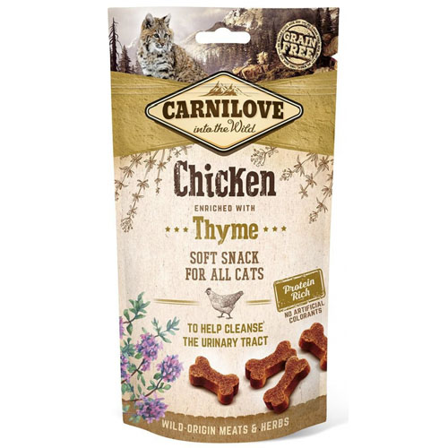 Carnilove Cat Semi Moist Snack Chicken & Thyme 50g