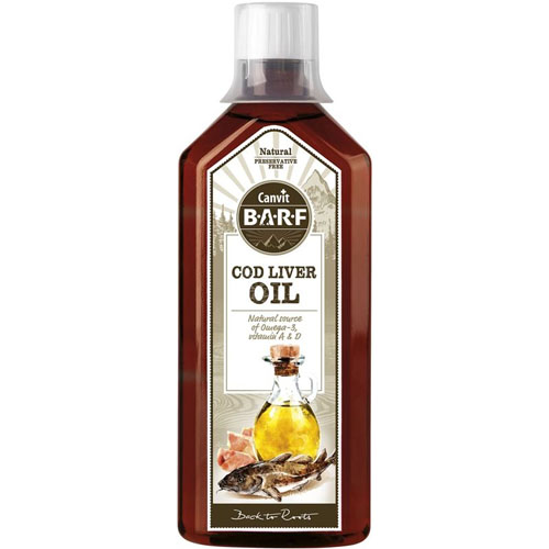 Canvit BARF Cod Liver Oil 500 ml
