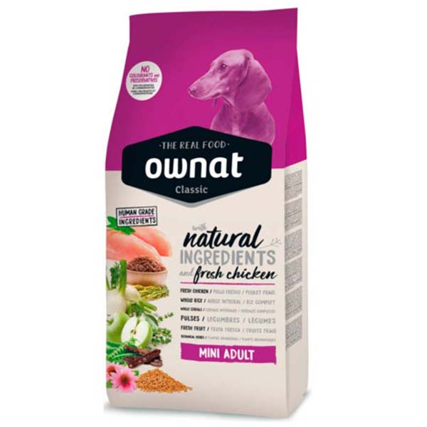 OWNAT Dog Classic Mini Adult 4kg