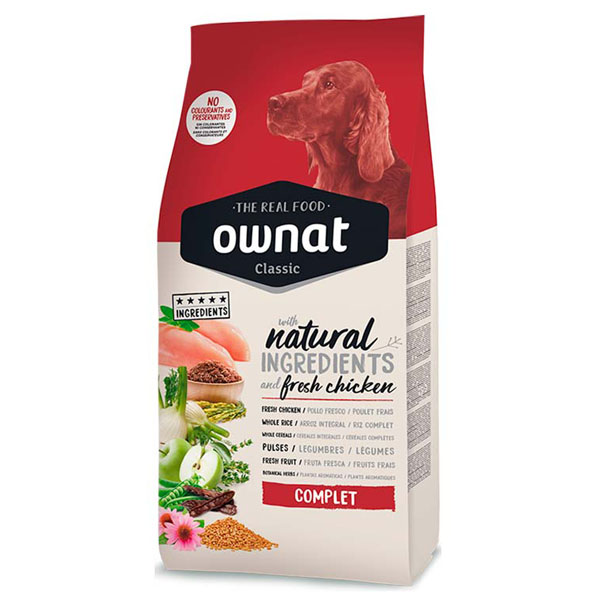 OWNAT Dog Classic Complet 4kg