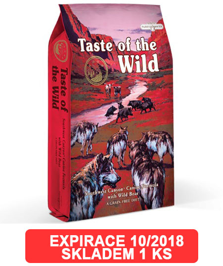 Taste of the Wild Southwest Canyon Canine 2kg - EXP 10/2018