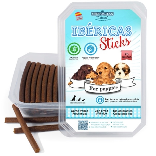 Tyčinky Ibéricas Sticks for Puppies 75ks/900g