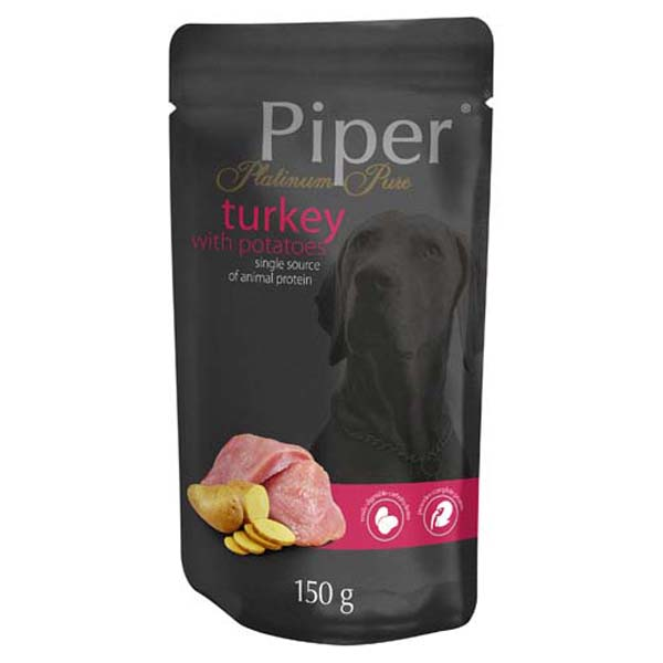 PIPER PLATINUM PURE Turkey with Potatoes 150g