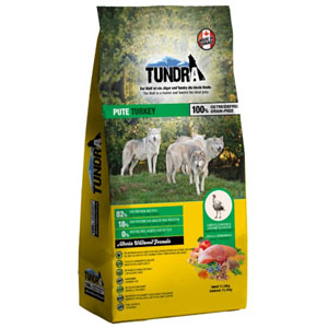 Tundra Dog Turkey Alberta Wildwood Formula 11,34 kg