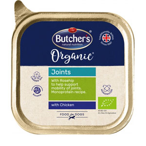 BUTCHER'S Dog Organic Joints s kuřecím 150g