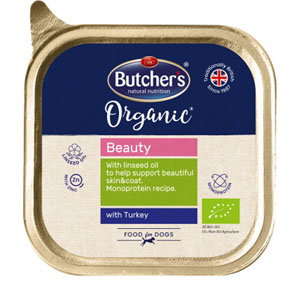 BUTCHER'S Dog Organic Beauty s krůtím 150g