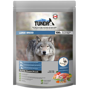 Tundra Dog Large Breed Big Wolf Moutain Formula 750 g