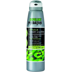 PREDATOR repelent spray 16% DEET 150ml