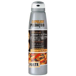PREDATOR FORTE repelent spray 25% DEET 90ml