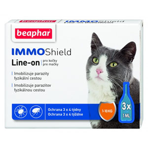 Beaphar Line-on IMMO Shield kočka 3x1pip
