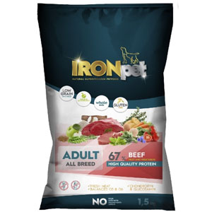 IRONpet BEEF Adult All Breed 1,5 kg
