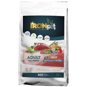 IRONpet BEEF Adult All Breed 12 kg