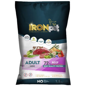 IRONpet BEEF Mini Adult 1,5 kg