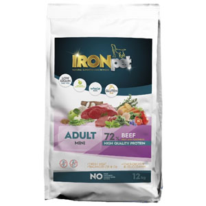 IRONpet BEEF Mini Adult 12 kg
