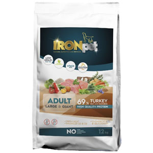 IRONpet TURKEY Large & Giant Adult 12 kg