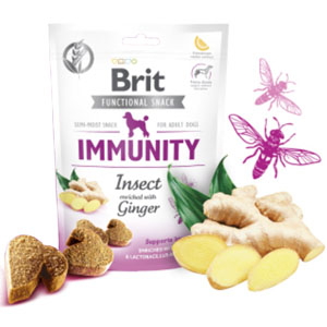BRIT Dog Functional Snack Immunity Insect 150g