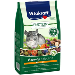Vitakraft Rodent Chinchilla Emotion Beauty 600g