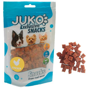 Juko Exclusive Snacks Chicken with Carrot and Celery 70g
